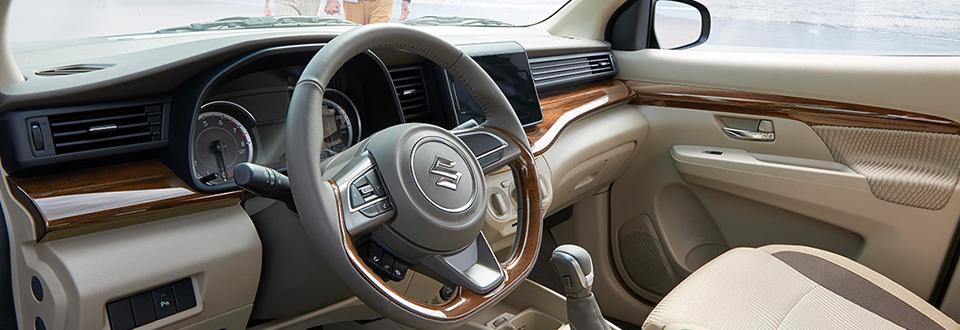 All New Ertiga interior dasboard