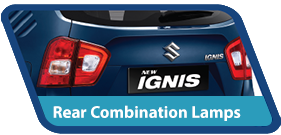 New Ignis Exterior Rear Combination Lamps