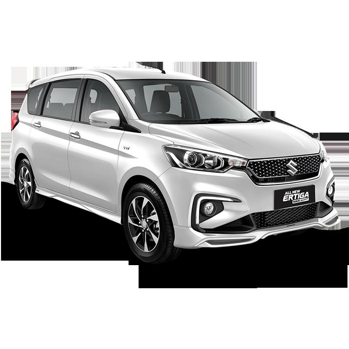 All New Ertiga Suzuki Sport Color Pearl Snow White