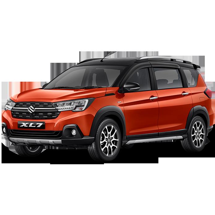 Suzuki SBM XL7 Color Rising Orange