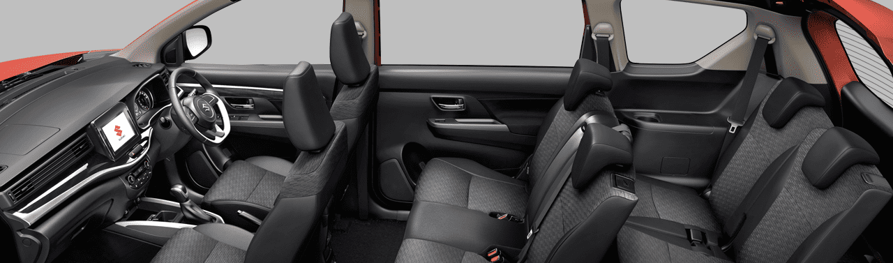 Suzuki SBM Interior EXTRA LARGE SPACE FOR SEVEN