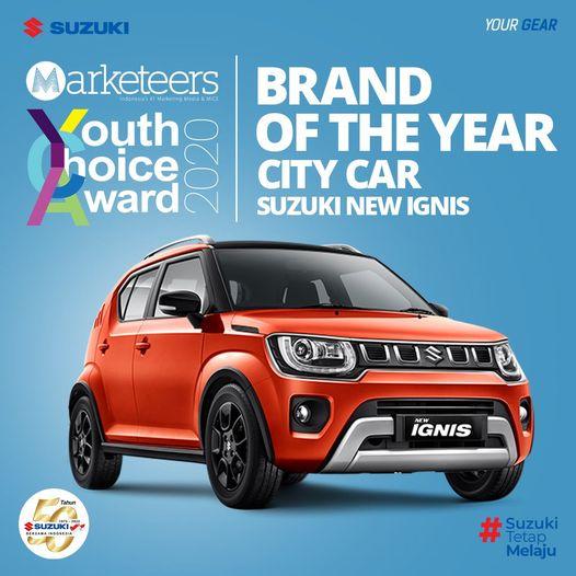 Brand Of The Year City Car Suzuki New Ignis Tumbnail Google
