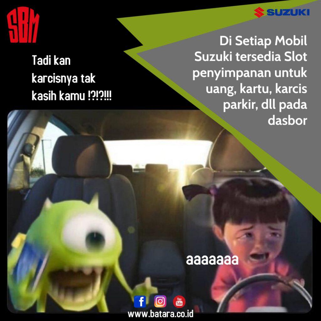 Slot Penyimpanan Suzuki SBM